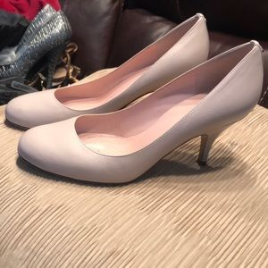 Kate Spade Light Pink Round Toe Heels Sz 7.5 W